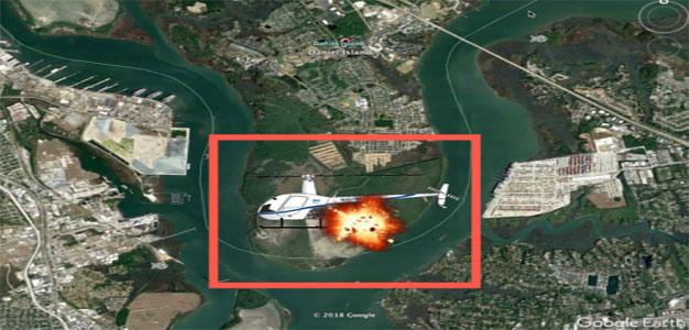 Charleston Chopper Crash Blamed on Private Drone…