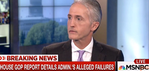 Trey Gowdy Expected to Replace Jason Chaffetz on House Oversight…