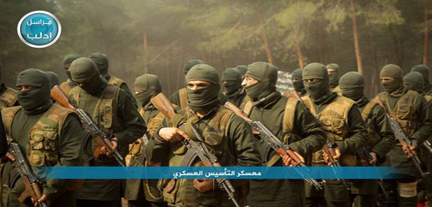Al-Qaeda-Wing-Al-Nusra-Released-Pictures-Showing-Its-Fighters-Military-Training-In-Idlib