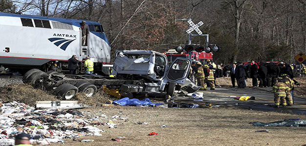NTSB Report Shows Truck Ignored Railroad Safety Gates Before Crash with Train Carrying GOP Members…