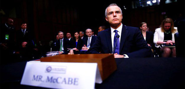 FBI Investigated Andrew McCabe for Allegedly Leaking About Michael Flynn…