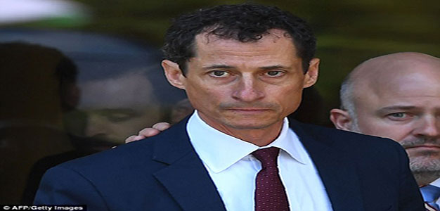 Weeping Anthony Weiner Begs for Forgiveness As He Pleads Guilty for Sexting a 15-Year-Old Girl…