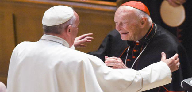 Former Archbishop of Washington Accused of Sexual Abuse…