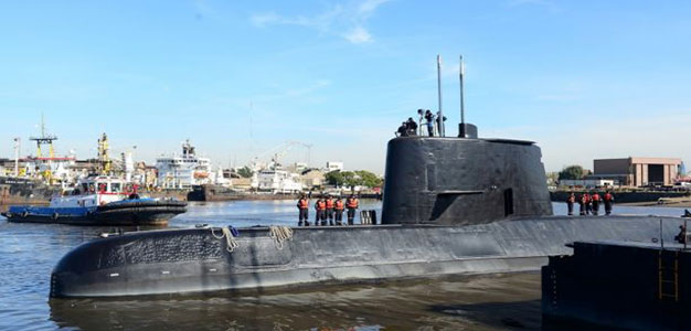 Argentine Navy Submarine Found 2,600 Feet Deep in Atlantic a Year After Disappearing…