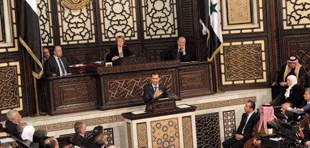 Assad Speaking Before Syrian Parliament_June 2016