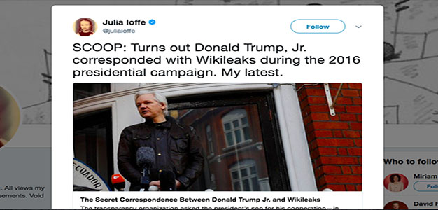 'The Atlantic' Commits Malpractice, Selectively Edits to Smear WikiLeaks…