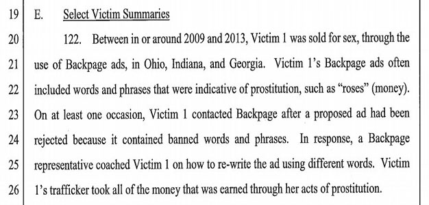 An Eye Popping Review of the #Backpage Indictment into Sex Trafficking…