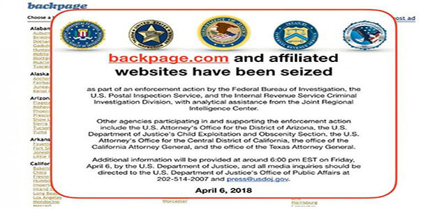 Top Officials at Backpage.com Indicted After Classifieds Site Taken Offline…