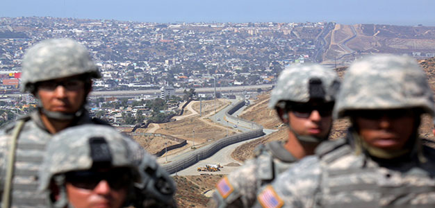 California BANS TROOPS from Helping Border Patrol Agents…