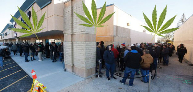 Canadians Love Their Legal Weed, They've Run Out of Stock on First Day of Legalization…
