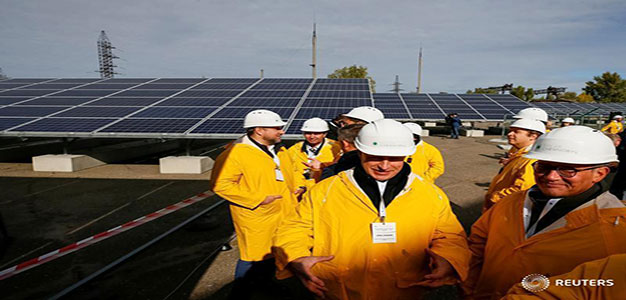 Three Decades After Nuclear Disaster, Chernobyl Goes Solar…