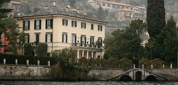 Clooney Home_Lake Como_Italy