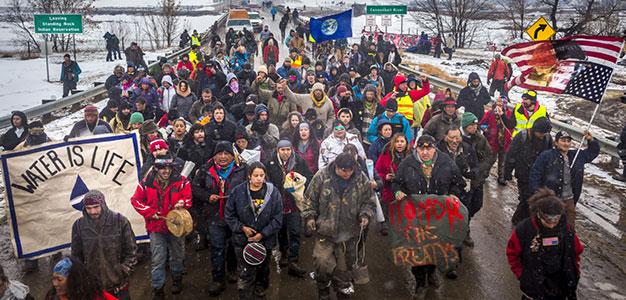 Dakota Access Pipeline Company Paid Mercenaries to Build Conspiracy Lawsuit Against Environmentalists…
