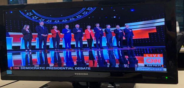 Democratic_Debate_2_The_Washington_Times_Victor_Morton