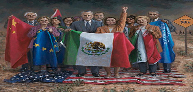 Democrats_American_flag