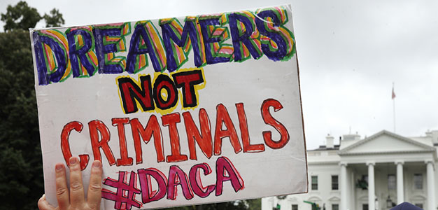 Six 'Dreamers' Sue the Trump Administration Over DACA…