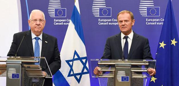 EU Tusk_ Israel Rivlin