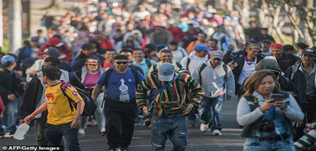 New Salvadoran Migrant Caravan Forms As Hundreds Wait at U.S.-Mexico Border…