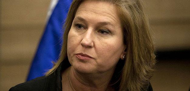 Ex Foreign Minister Tzipi Livini