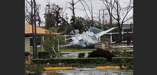 """Hurricane Cost May Skyrocket As Billions in Stealth Fighter Jets Unaccounted for; Tyndall AFB """"Complete Loss""""…"""