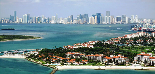 The Richest People in America Live on This Miami Island…