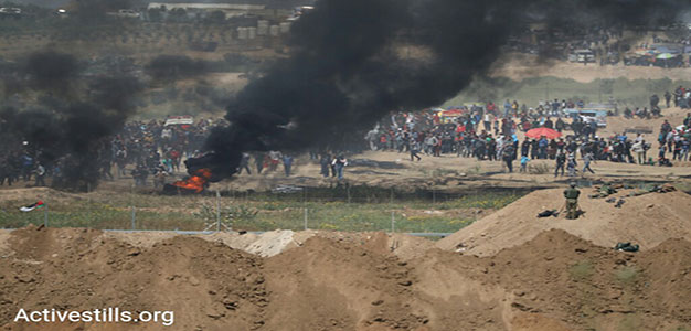 9 Gazans Killed, Including a Palestinian Journalist, During Border Protests…
