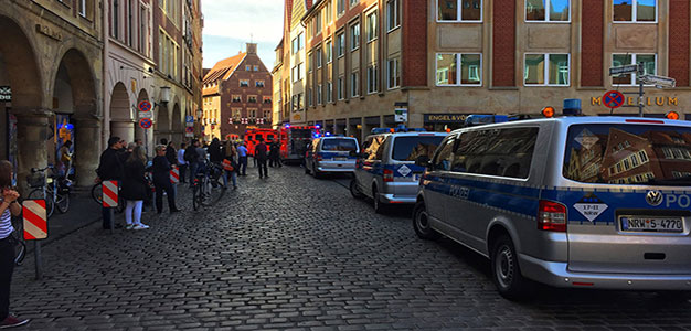3 People, Including Van Driver, Killed in Muenster Ramming Incident. Numerous Injured…