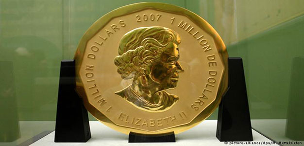 One-Million-Dollar Coin Stolen from Berlin Museum…
