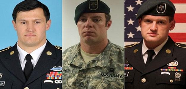 Green Berets Matthew Lewellen, Kevin McEnroe, James Moriarity Killed in Jordan