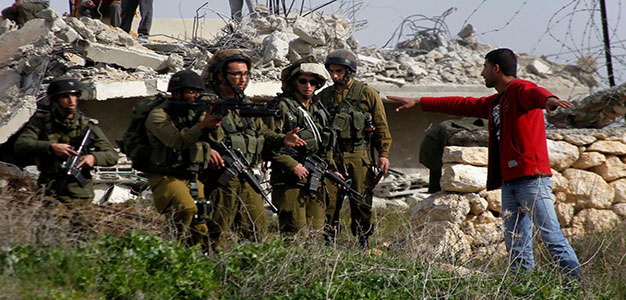 IDF in Occupied Palestine