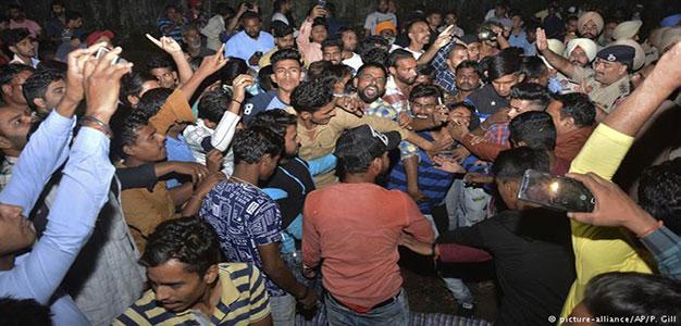 India: Scores Killed As Train Plows Into Revelers at Religious Festival…