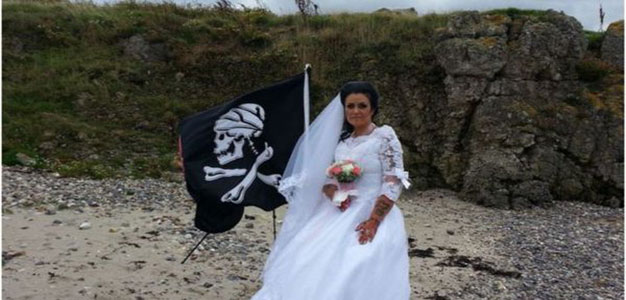 This Isn't a Headline You Read Everyday: Irish Woman Who Married Ghost of 300-Year-Old Pirate Says They Have Split Up…