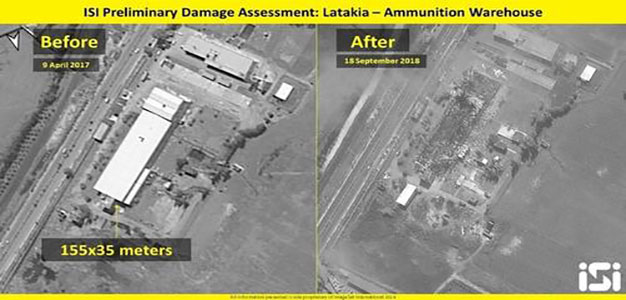 New Satellite Images Reveal Aftermath of Israeli Strikes on Syria; Putin Accepts Offer to Probe Downed Jet…