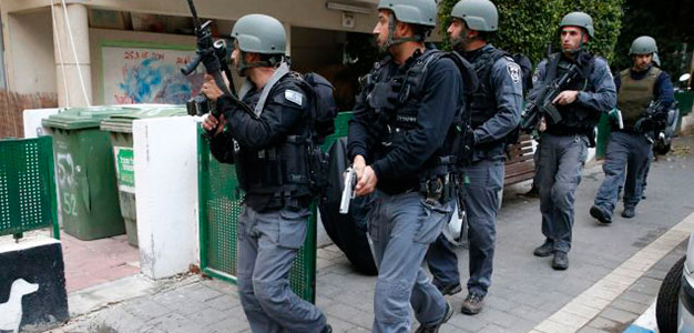 Israeli Security Forces_Tel Aviv_GettyImages