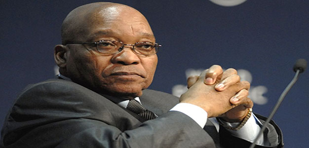 Embattled President Jacob Zuma as South Africa's President…
