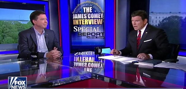 Bret Baier's Telling Interview with James Comey (VIDEO)…