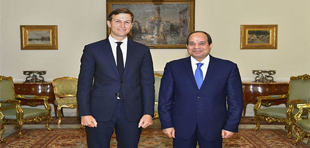 Kushner Meets with Egypt's Sisi About Israeli-Palestinian Peace Plan…