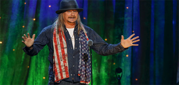 It's Official: Kid Rock Throws His Hat into Michigan Senate Race…