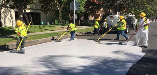 L.A. Painting City Streets White in Bid to Combat Climate Change…