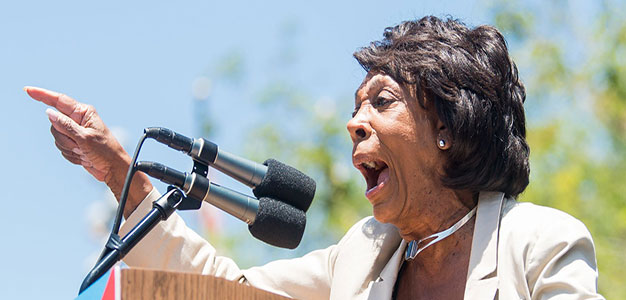 MAXINE ERUPTS: Rep. Waters Tells President Trump to 'Keep his Mouth Shut'…