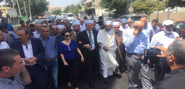 Arab MK: 'Whole Arab world will rise up' if Israel Doesn't Remove Metal Detectors…
