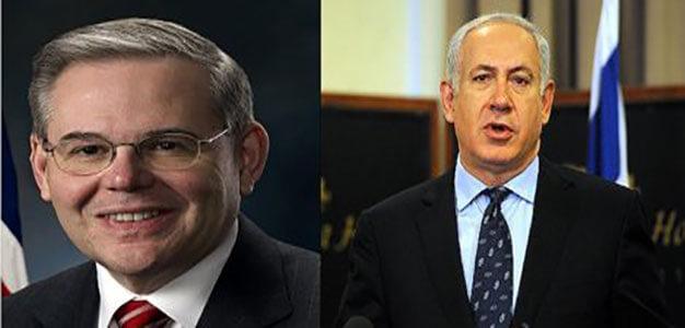 Menendez & Netanyahu by Micah Morrison…