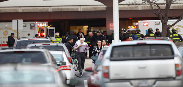 Multiple People, Including Police Officer and Shooter, Wounded in 'Active Shooter' Attack at Mercy Hospital…