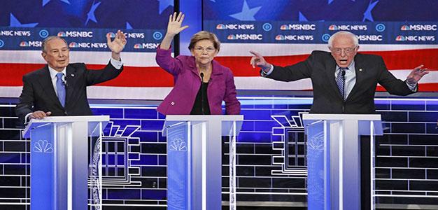 Michael_Bloomberg_Elizabeth_Warren_Bernie_Sanders_2020_NBC_Primary_Debate_AP