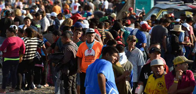 Migrants Determined to Cross U.S. Border as DOD Secures Ports of Entry…
