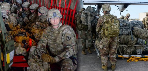 OPERATION FAITHFUL PATRIOT…Troops Begin to Arrive at Border…