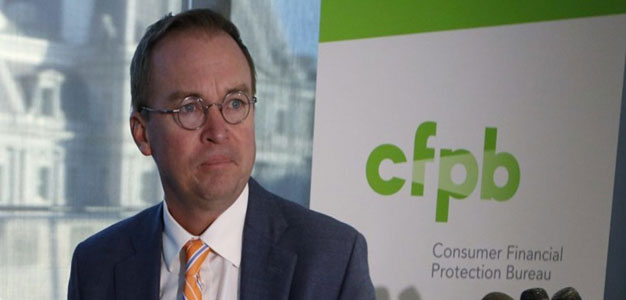 CFPB Chief Mick Mulvaney Formally Asks Congress to Slash the Agency's Power…