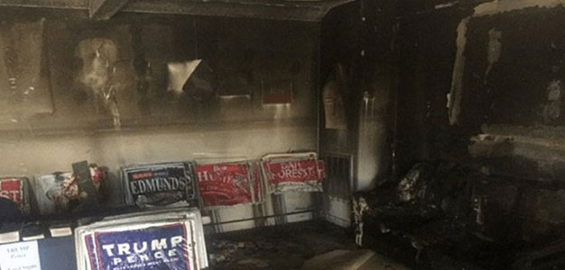 nc gop_fire bombed