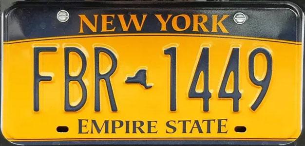 New_York_License_Plate