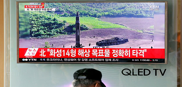Missile Launched by North Korea Was Intermediate Range, NOT ICBM…